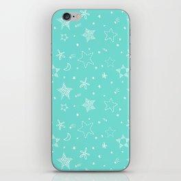 Star Doodles iPhone Skin