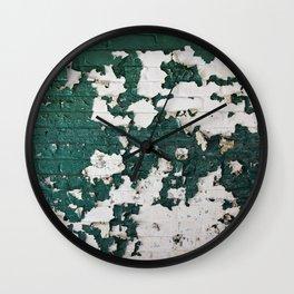 In Green Wall Clock