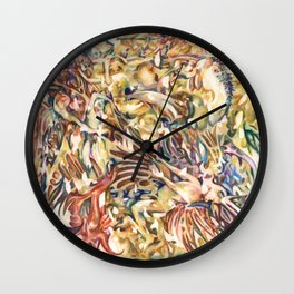 Daemon Tempura Glump Wall Clock