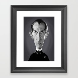 Peter Cushing Framed Art Print
