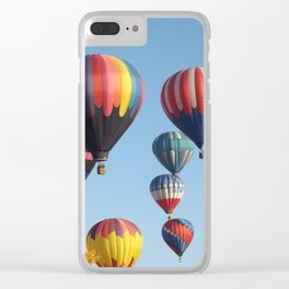 Balloons Arising Clear iPhone Case