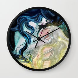 Death & Life Wall Clock
