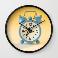 watch Wall Clocks featuring watch by laika in cosmos