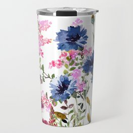 Wildflowers IV Travel Mug