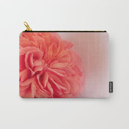 A Touch of Love - Pink Rose #2 #art #society6 Carry-All Pouch