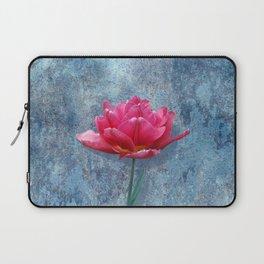 Pink Tulip Laptop Sleeve
