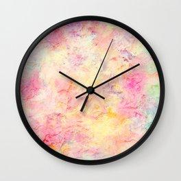 Plastered Memories 9 Wall Clock