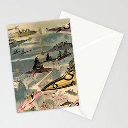 La Sortie de l'opéra en l'an 2000 Stationery Cards