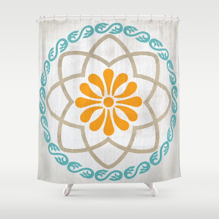 Kamon Maite Shower Curtain