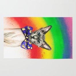Rainbow Sphynx Rug