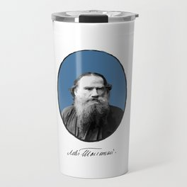Authors - Lev Tolstoj Travel Mug