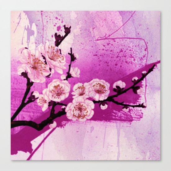 fleur de pommier Canvas Print