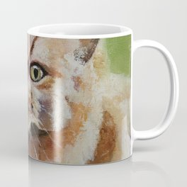 Cat, red hair, animal, persian Coffee Mug