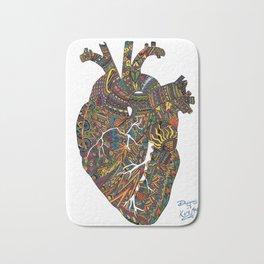 Heart-Beats Bath Mat