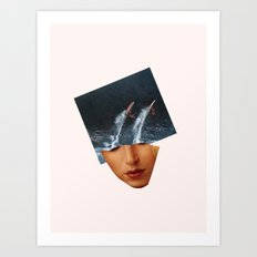 Surf Up Art Print