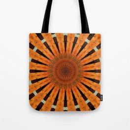 ORANGE MANDALA Tote Bag