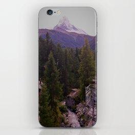 View of the Matterhorn iPhone Skin