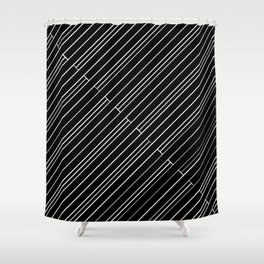 La Grille #15 Shower Curtain