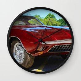 Rare 1963 Shelby Cougar II Wall Clock