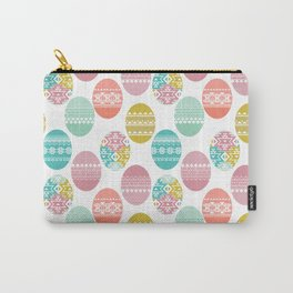 easter white background Carry-All Pouch