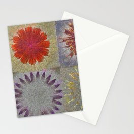 Uncaptivate Stripped Flower  ID:16165-034048-23510 Stationery Cards