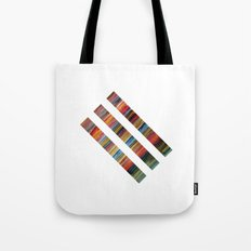 Watercolor Lines Tote Bag