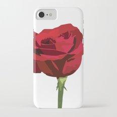 Red Rose Slim Case iPhone 7