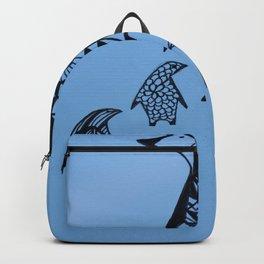Penguin Family Backpack