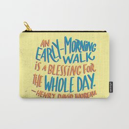 Early-Morning Walk Carry-All Pouch