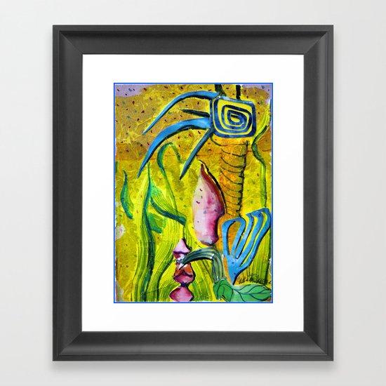 Celestial World of Palm Framed Art Print