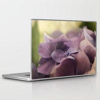 hydrangea Laptop & iPad Skins featuring Hydrangea by Deborah Janke