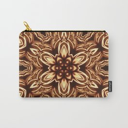 Fractal Filament Blast Pattern Carry-All Pouch
