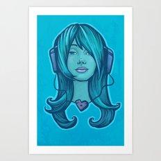 Listen to Your Heart Art Print