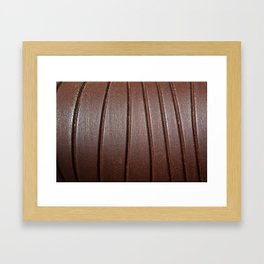 Metal Curves Framed Art Print