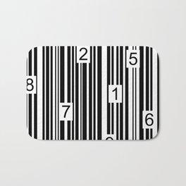 Barcode Bath Mat