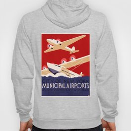 City of New York Airports Travel Hoody