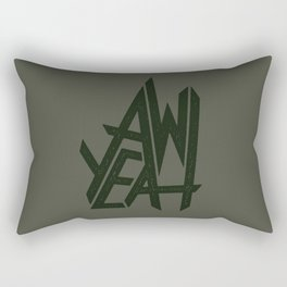 AW YEAH Rectangular Pillow