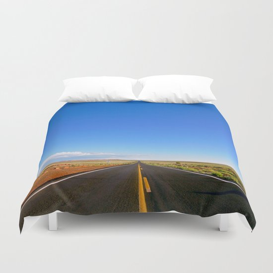 Are We Being Straighforward Duvet Cover