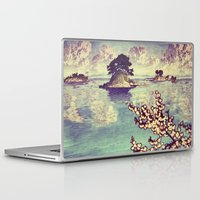 japanese Laptop & iPad Skins featuring Watching Kukuyediyo by Kijiermono