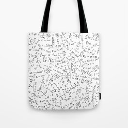 Equation Overload II Tote Bag