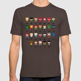 Superhero Alphabet T-shirt