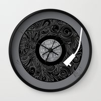 equality Wall Clocks featuring Equality by Rachel Caldwell