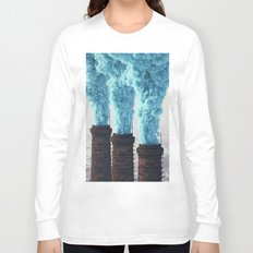 Blue Pollution Long Sleeve T-shirt