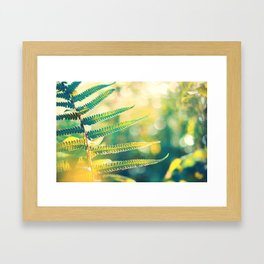 Flow of Energy Framed Art Print