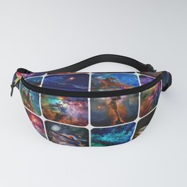 The Amazing Universe 2 - Collection of Space Imagery Fanny Pack