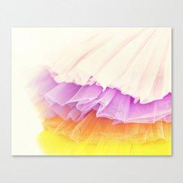 Tutu Candy Canvas Print
