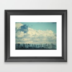 you are what you think Framed Art Print