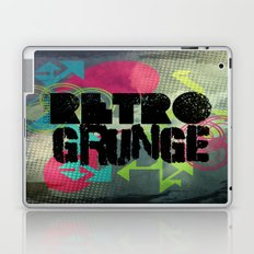 Abstract373 Retro Grunge Laptop & iPad Skin