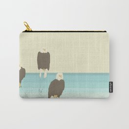 Bald Eagles Carry-All Pouch