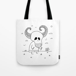 Death Pizza Party Tote Bag